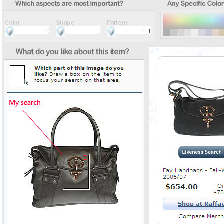 Like.com search on a cross shaped purse latch