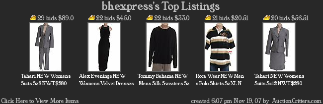 BHexpress top selling items