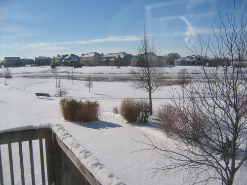 Christmas weather in Chicagoland
