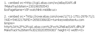 make track trick to get eBay watchers