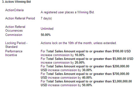ebay affiliate payout