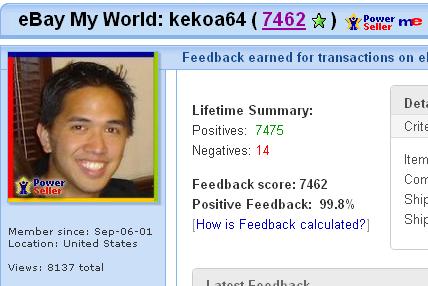 Kekoa64 isback